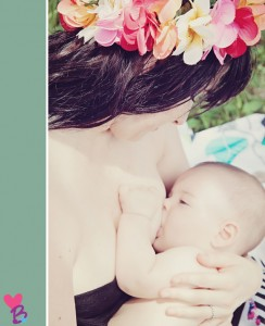 Earth Mama breastfeeding photo
